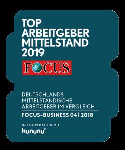 FCB Siegel Arbeitgeber 2019
