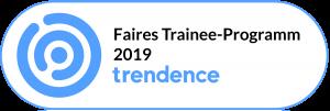 Siegel für Faires Trainee-Programm 2019