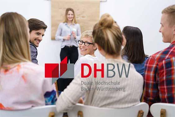 DHBW-SPECTRUM Studenten bei einer Vorlesung.