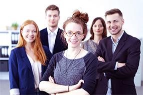 Unsere Young Professionals ausgebildet und qualifiziert für Ihre Bedürfnisse.